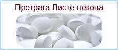 Provera liste lekova